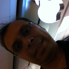 Photo taken at Apple Store, Pacific Centre by Javier G. on 7/24/2012