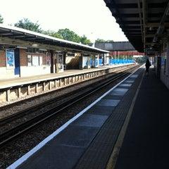 Photo taken at Twickenham Railway Station (TWI) by Shaun H. on 9/4/2012