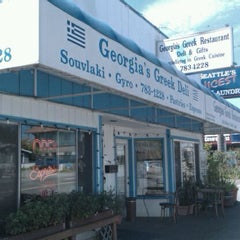 Photo taken at Georgia's Greek Restaurant & Deli by Doug C. on 6/5/2011