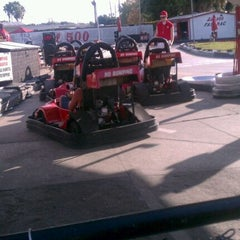 Photo taken at Lil 500 Go Karts by Stevie S. on 11/13/2011