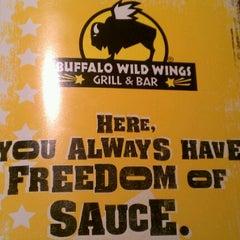 Photo taken at Buffalo Wild Wings by Ryan K. on 1/22/2012