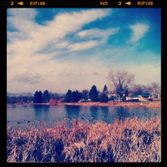 Photo taken at Huston Lake Park by Angela C. on 11/19/2011