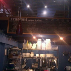 Photo taken at Trabant Coffee & Chai by Rand F. on 9/3/2012