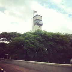 Photo taken at Ponte das Bandeiras by Miguel M. on 11/18/2011