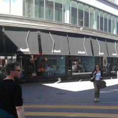 Photo taken at Jelmoli by Bobby C. on 4/26/2012