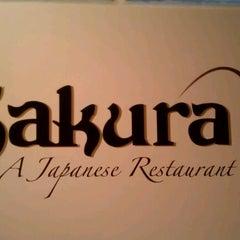 Photo taken at Sakura Japanese Restaurant by Rik P. on 5/31/2012