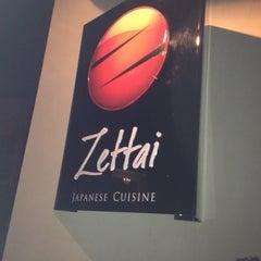 Photo taken at Zettai - Japanese Cuisine by Marcela M. on 4/3/2012