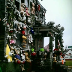 Photo taken at The Heidelberg Project by Rebecca H. on 11/27/2011