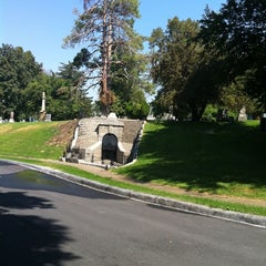 Photo taken at Mount Olivet Cemetery by Kyle H. on 8/16/2011