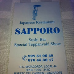 Photo taken at Sapporo Restaurant by wehal3001 on 9/3/2011