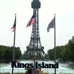 Photo taken at Kings Island by Gabe H. on 7/28/2011
