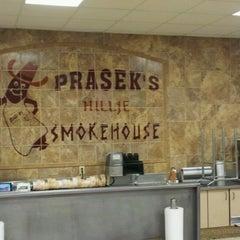 Photo taken at Prasek's Hillje Smokehouse by Roger M. on 5/14/2012