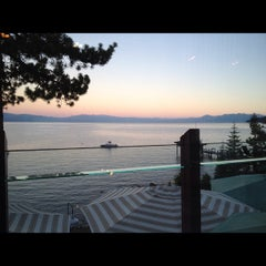 Photo taken at Gar Woods Grill & Pier by Diana K. on 7/25/2012