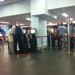 Photo taken at Tam Check In by Lucas B. on 3/2/2012