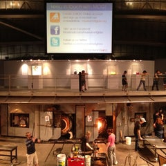 Photo taken at The Hot Shop at the Museum Of Glass by Nishikawa S. on 5/10/2012