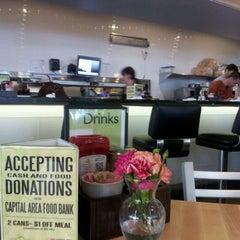 Photo taken at Kerbey Lane Café by Claudia S. on 7/8/2012