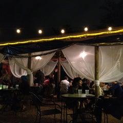 Photo taken at G'Raj Mahal Cafe by Monica K. on 3/17/2012