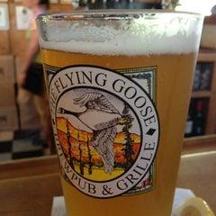 Photo taken at Flying Goose Brew Pub & Grille by Jennifer K. on 7/25/2012