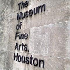 Photo taken at Museum of Fine Arts Houston by Joe C. on 7/11/2012