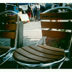 Photo taken at Union Square by Valerie R. on 8/11/2012