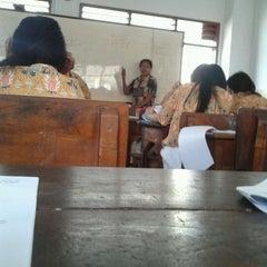 Photo taken at Sekolah Santo Paulus Jakarta by Hendry D. on 4/17/2012