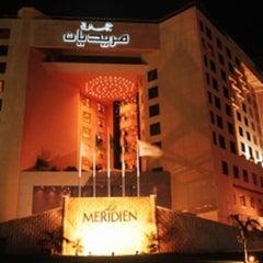 Photo taken at Le Méridien Jeddah by Yan on 6/30/2012