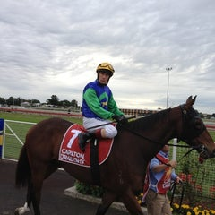 Photo taken at Eagle Farm Racecourse by Riane on 6/23/2012
