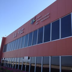 Photo taken at Aeropuerto Manuel Márquez de León (LAP) by Frank E. on 5/28/2012