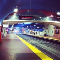 Photo taken at West Portal MUNI Metro Station by Yue T. on 6/3/2012