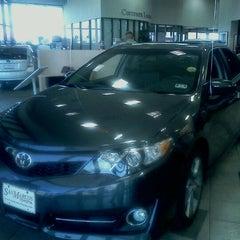 Photo taken at San Marcos Toyota by Maria E. on 9/24/2011
