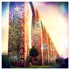 Photo taken at Santiago de Querétaro by Alonso C. on 4/17/2012