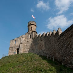 Photo taken at Lincoln Castle by University of Lincoln on 8/18/2011