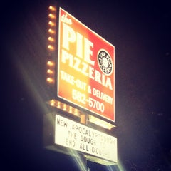 Photo taken at The Pie Pizzeria by James V. on 3/15/2012