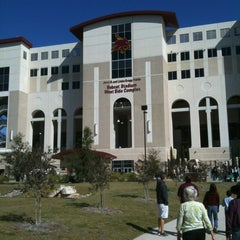 Photo taken at Bobcat Stadium by Beth L. on 11/19/2011