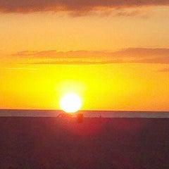 Photo taken at Treasure Island Beach by k9rudy1982 on 11/21/2011
