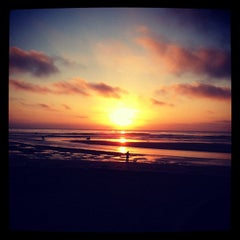 Photo taken at Cardiff State Beach by C M. on 10/17/2011