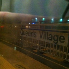 Photo taken at LIRR - Queens Village Station by christopher g. on 4/13/2012