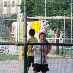 Photo taken at Giardini di Via Sabotino by Gianluca V. on 6/30/2012