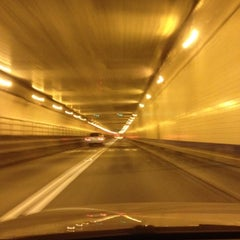 Photo taken at Lincoln Tunnel by Lou on 8/26/2012