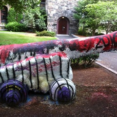 Photo taken at Tufts Cannon by Dixon M. on 8/14/2012