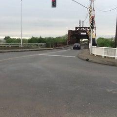 Photo taken at I Street Bridge by Francine G. on 4/25/2012