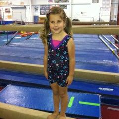 Photo taken at Gymquarters Gymnastics Center by Lisa K. on 5/20/2012