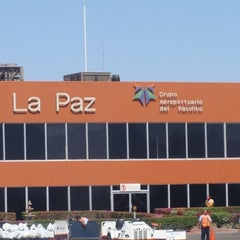 Photo taken at Aeropuerto Manuel Márquez de León (LAP) by Rockdri S. on 5/13/2011