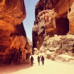 Photo taken at Petra البتراء by Marozhneva on 5/20/2012