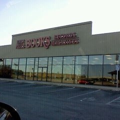 Photo taken at Half Price Books by Jenny M. on 1/1/2012