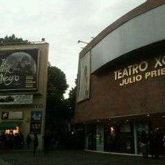 Photo taken at Teatro Julio Prieto by Sarai M. on 7/24/2012