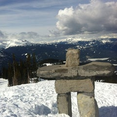Photo taken at Whistler Blackcomb Mountains by Lindsay S. on 4/13/2012