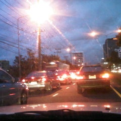 Photo taken at แยกลำสาลี (Lam Sali Intersection) by AoffiZeR T. on 9/7/2012