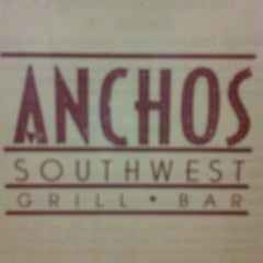 Photo taken at Anchos Southwest Bar & Grill by Tanya m. on 10/3/2011