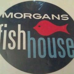 Photo taken at Morgan's Fish House by Morgan L. on 12/18/2011